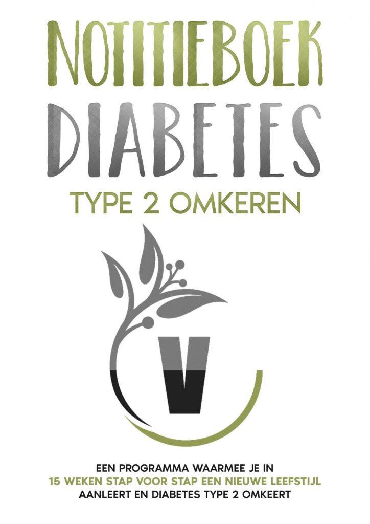 Notiitieboek diabetes type 2 omkeren