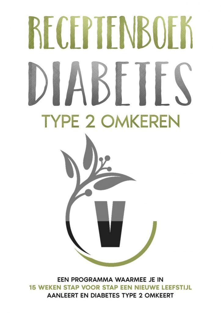 Receptenboek diabetes type 2 omkeren